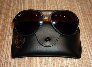 Ray Ban Sonnenbrille Alex RB4201 622/8G 59-15 schwarz grau Pilotenbrille