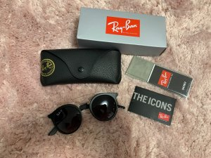 Ray ban Sonnenbrille asian fit schwarz