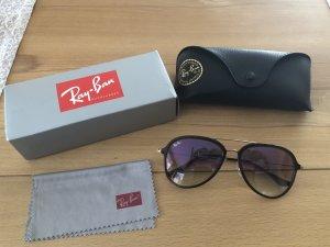 Ray Ban Sonnenbrille Aviator 4298 Choccolate mit Farbverlauf