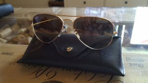 Ray Ban Sonnenbrille Aviator gold/braun small