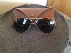 Ray-Ban Sonnenbrille Aviator Small Metal Gr.52 in der Farbe gold verspiegelt
