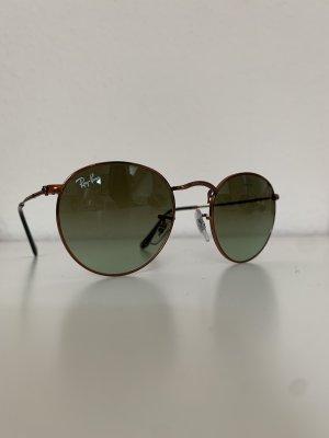 Ray Ban Round Sunglasses bronze-colored