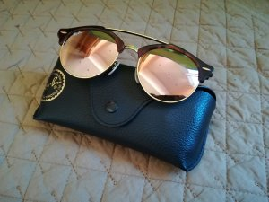 Ray-Ban Sonnenbrille Clubround Double Bridge