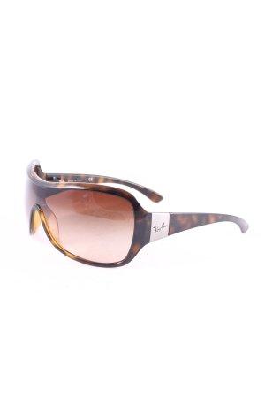 Ray Ban Sonnenbrille dunkelbraun-braun Farbverlauf extravaganter Stil