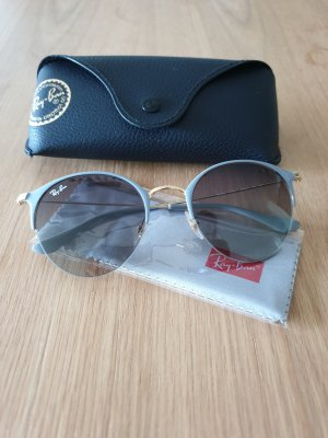 Ray Ban Round Sunglasses gold-colored-light grey