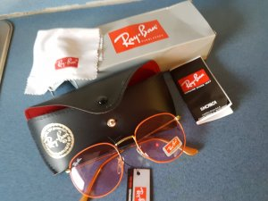 Ray Ban Glasses cream stainless steel