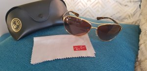 Ray Ban Round Sunglasses brown