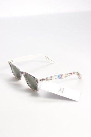 Ray-Ban Sonnenbrille Kartenmuster