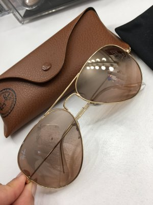Ray Ban Glasses gold-colored-light brown