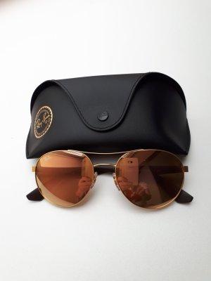 Ray Ban Sonnenbrille mit Spiegelglas