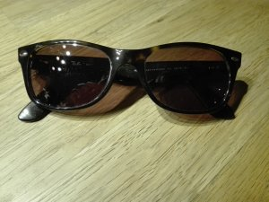 Ray Ban Glasses dark brown synthetic material