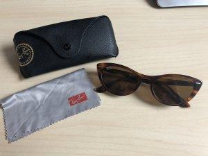 Ray Ban Retro Glasses brown-sand brown