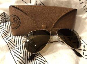 Ray Ban Sonnenbrille Pilotenbrille goldfarben