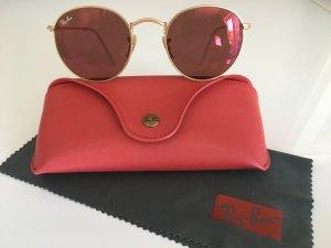 Ray Ban Sonnenbrille RB 3447, goldfarben-rosa, ORIGINAL