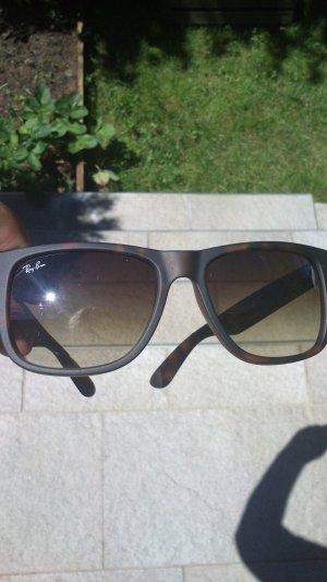 Ray Ban Sonnenbrille RB 4165 Justin 710/13 5416 3N rubber havana