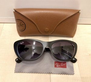 Ray Ban Sonnenbrille RB 4227 schwarz black on crystal Top