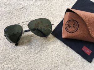 Ray Ban Sonnenbrille RB 55014 Silber Aviator Large Metal W3276
