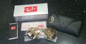 Ray Ban Sonnenbrille RB3449 001/2Y rose gold unisex Damen & Herren