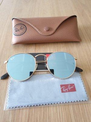 Ray Ban Round Sunglasses silver-colored-gold-colored