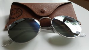Ray-Ban Sonnenbrille Round Metal Silver