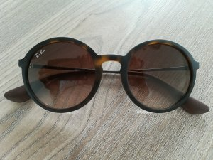 ray ban sonnenbrille rund schwarz