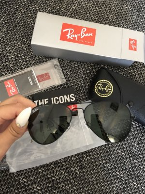Ray Ban Gafas de piloto negro