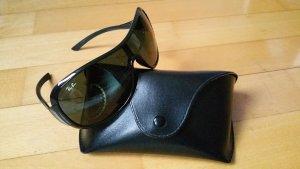 Ray Ban Sonnenbrille schwarz Damen