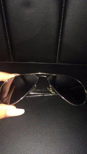 Ray Ban Sonnenbrille Silber pilotenbrille
