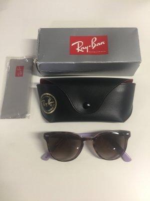 Ray Ban Occhiale da sole marrone chiaro-viola Materiale sintetico