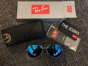 Ray ban Spiegelbrille aviator blau