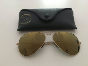 Ray Ban Glasses bronze-colored metal