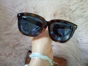 Ray Ban Wayfarer Braun Schwarz Sonnenbrille Blogger 4262D