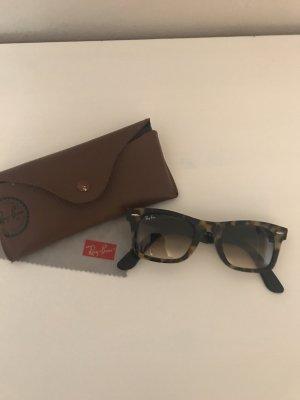 Ray Ban Gafas de sol cuadradas negro-marrón