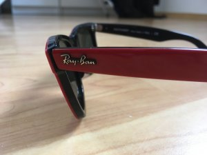 Ray Ban Glasses red-black