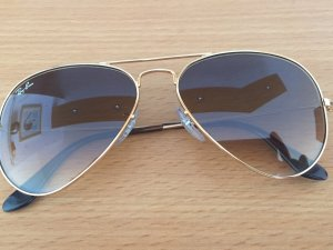 Ray Ban Glasses gold-colored-grey brown
