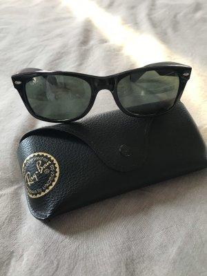 RayBan New Wayfarer Sonnenbrille schwarz