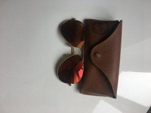 Rayban Sonnebrille Verspiegelte Gläser Orange
