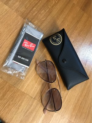 Ray Ban Aviator Glasses gold-colored