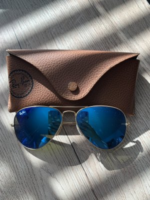 Ray Ban Glasses blue-gold-colored