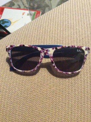 Rayban sonnenbrille bund , blumenmuster