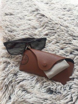 Rayban Sonnenbrille grau/schwarz