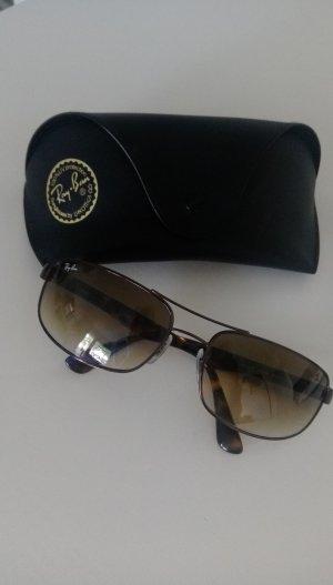 RayBan Sonnenbrille in Braun
