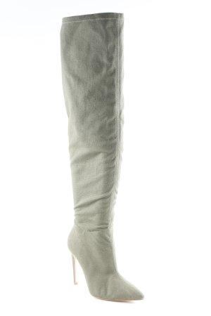 Raye Overknees khaki Elegant
