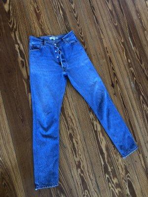 Levi's Jeans a vita alta blu acciaio
