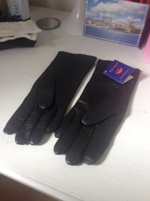 Real leather top quality gloves 6,5