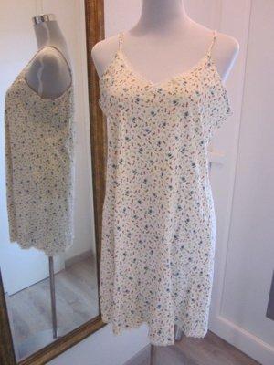 Real Vintage Kleidchen Blümchen Creme Gr L Negligee