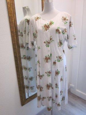 Real Vintage Maxi Kleid geblümt Gr L