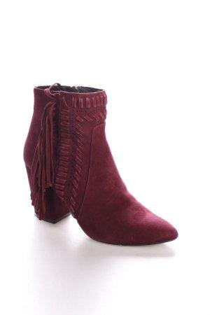 Rebecca Minkoff Absatz Stiefel purpur Casual-Look
