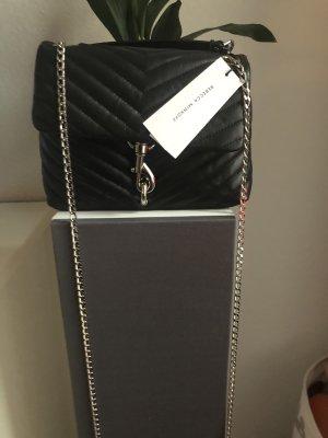 Rebecca Minkoff Crossbody bag black-silver-colored
