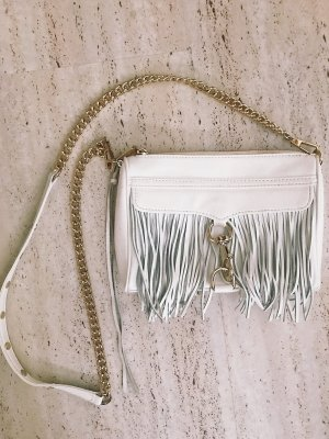 Rebecca Minkoff Fringed Bag white
